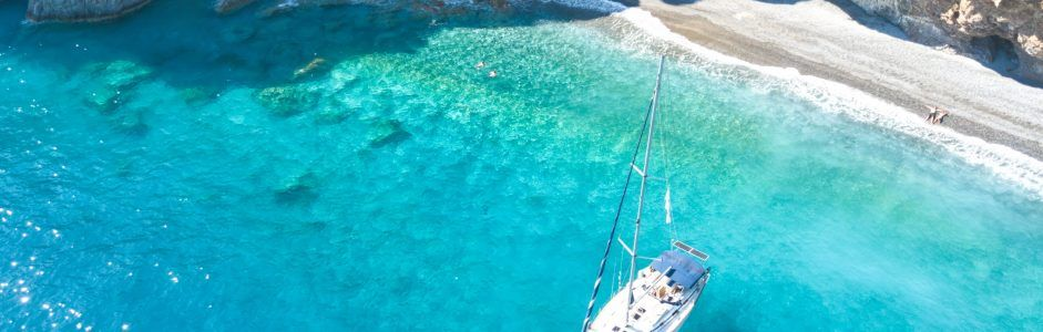Sailing daily trip on the top coasts of Crete