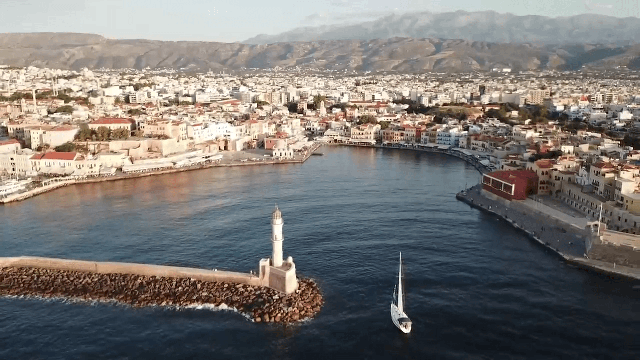 sailing trips starting from Chania town